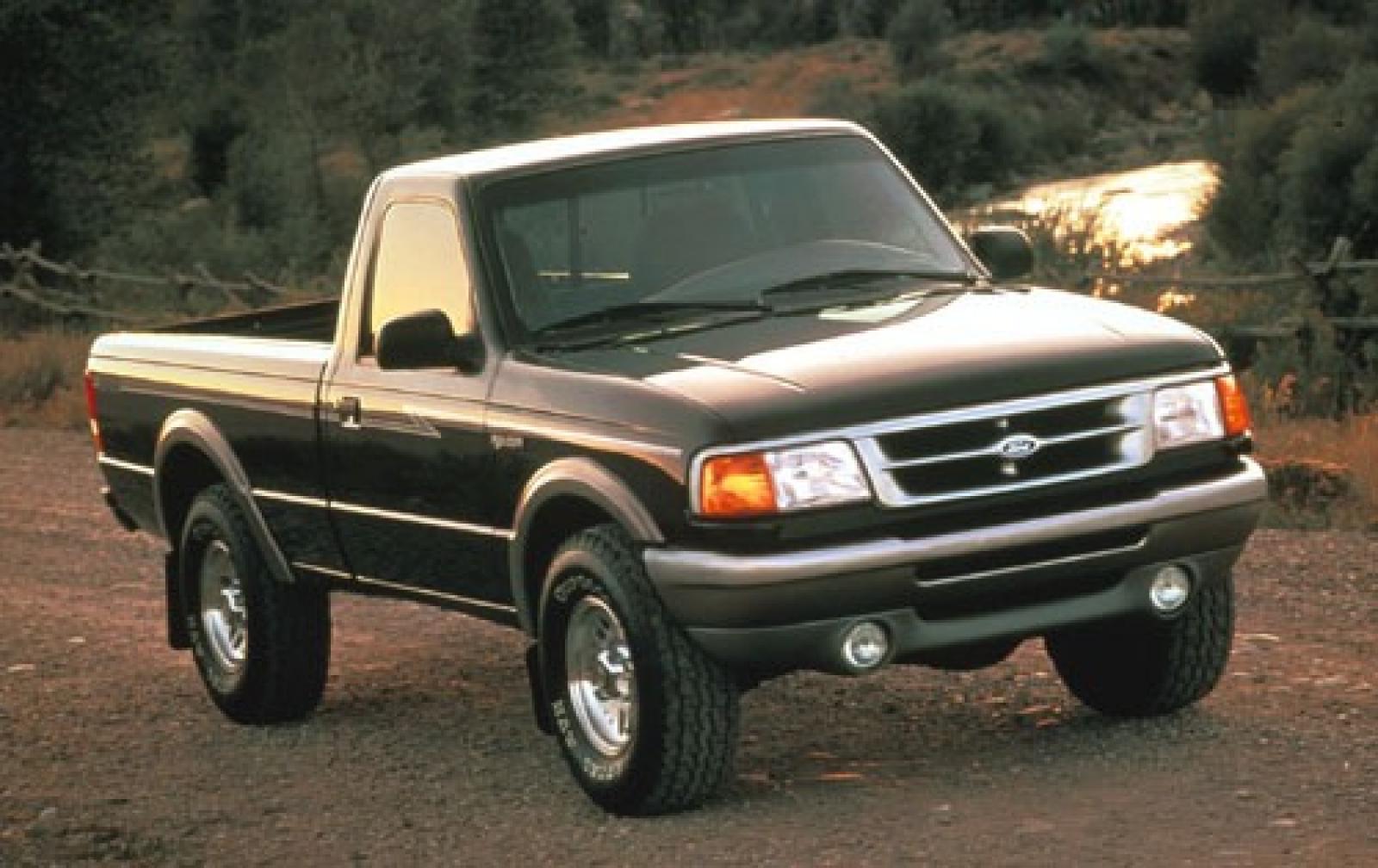 Ford Ranger Regular Cab Pickup Xlt Fq Oem on 1990 Ford Ranger Extended Cab