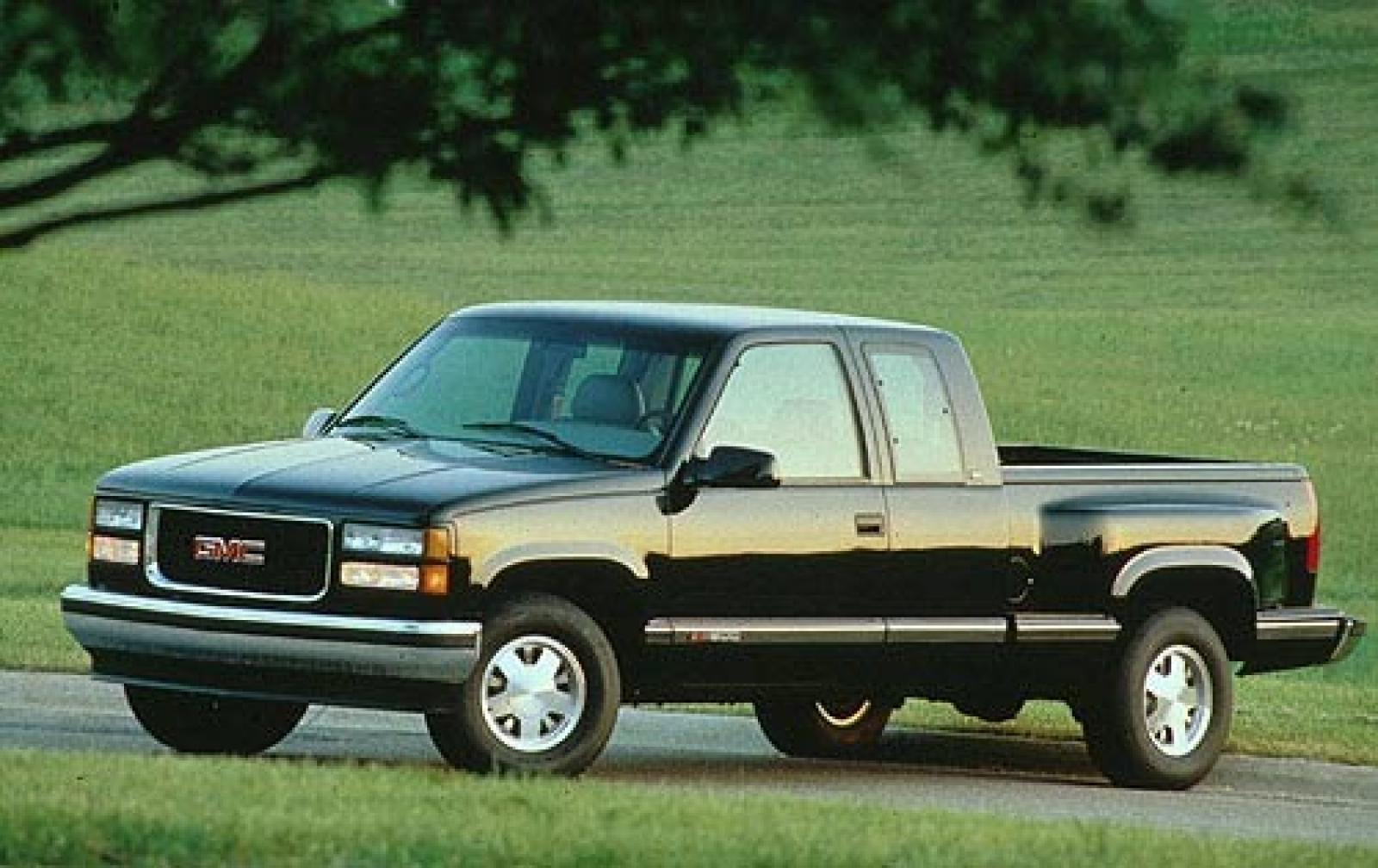 1997 gmc sierra 1500 information and photos zombiedrive. Black Bedroom Furniture Sets. Home Design Ideas