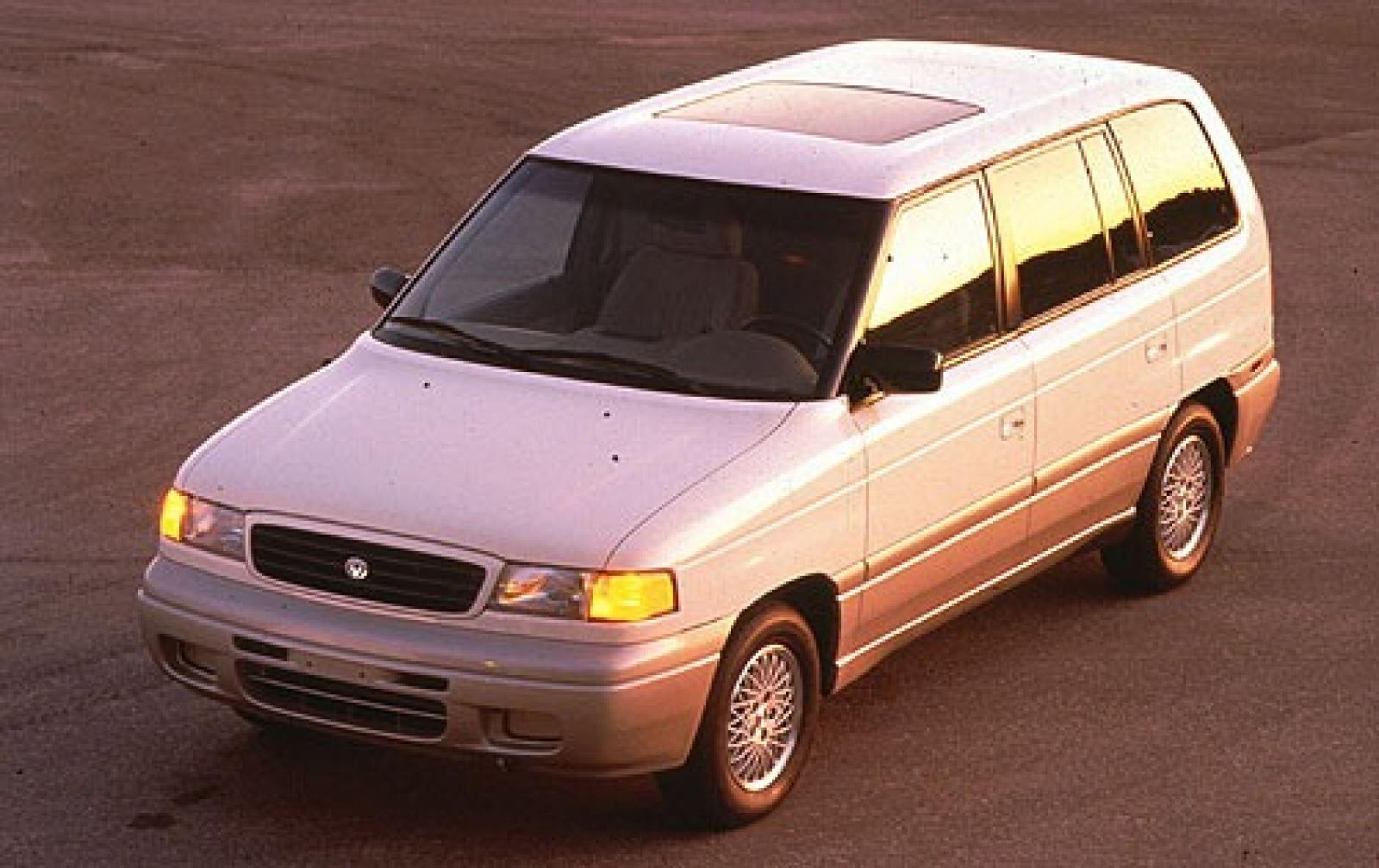 1997 mazda mpv information and photos zombiedrive. Black Bedroom Furniture Sets. Home Design Ideas