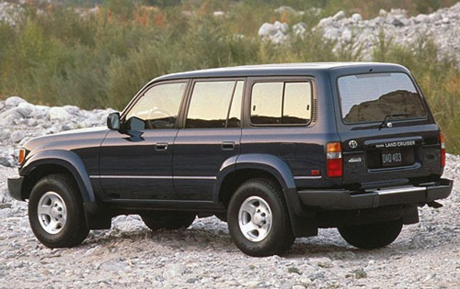 1997 toyota land cruiser information and photos. Black Bedroom Furniture Sets. Home Design Ideas