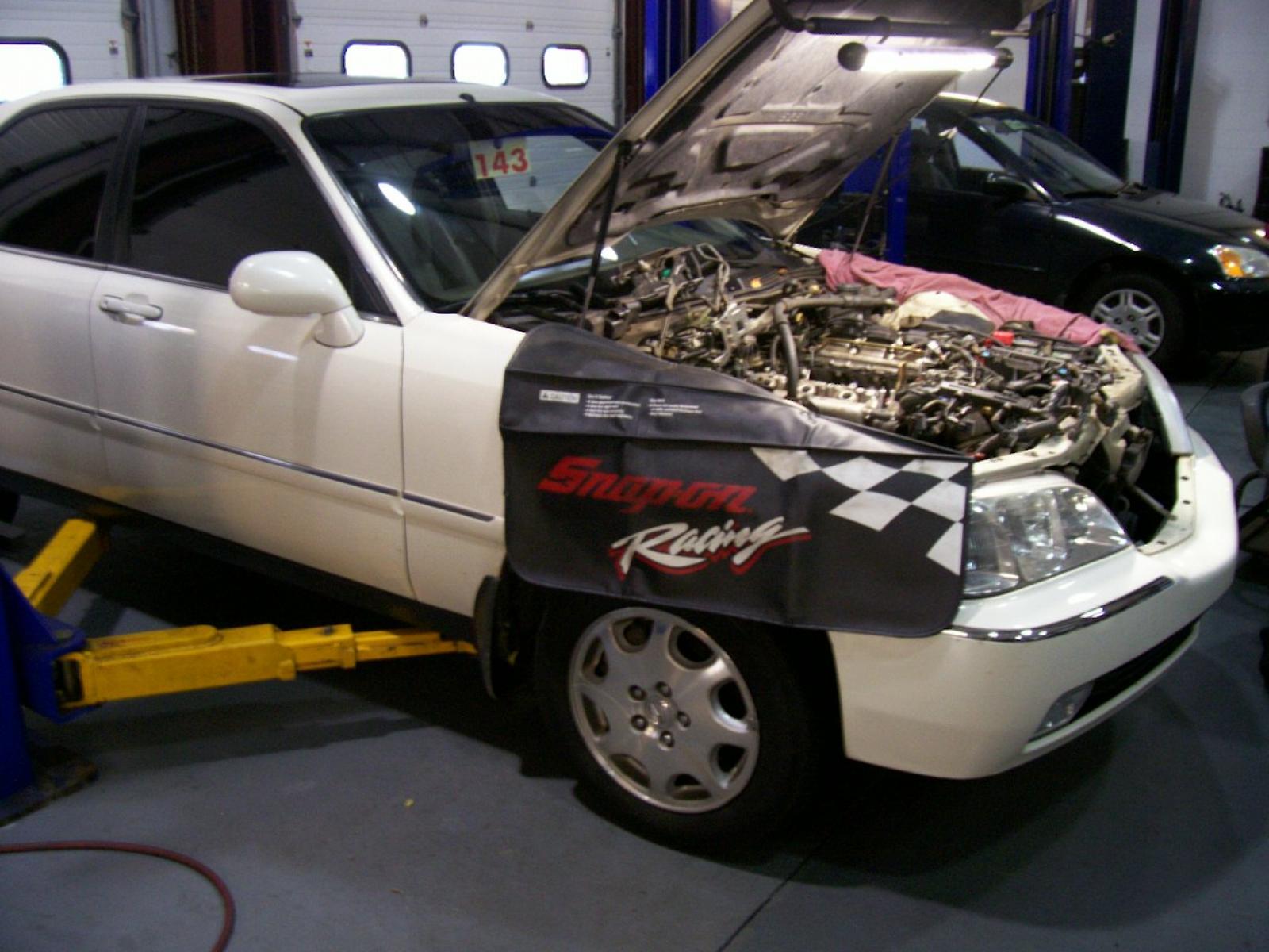 Acura rl intake