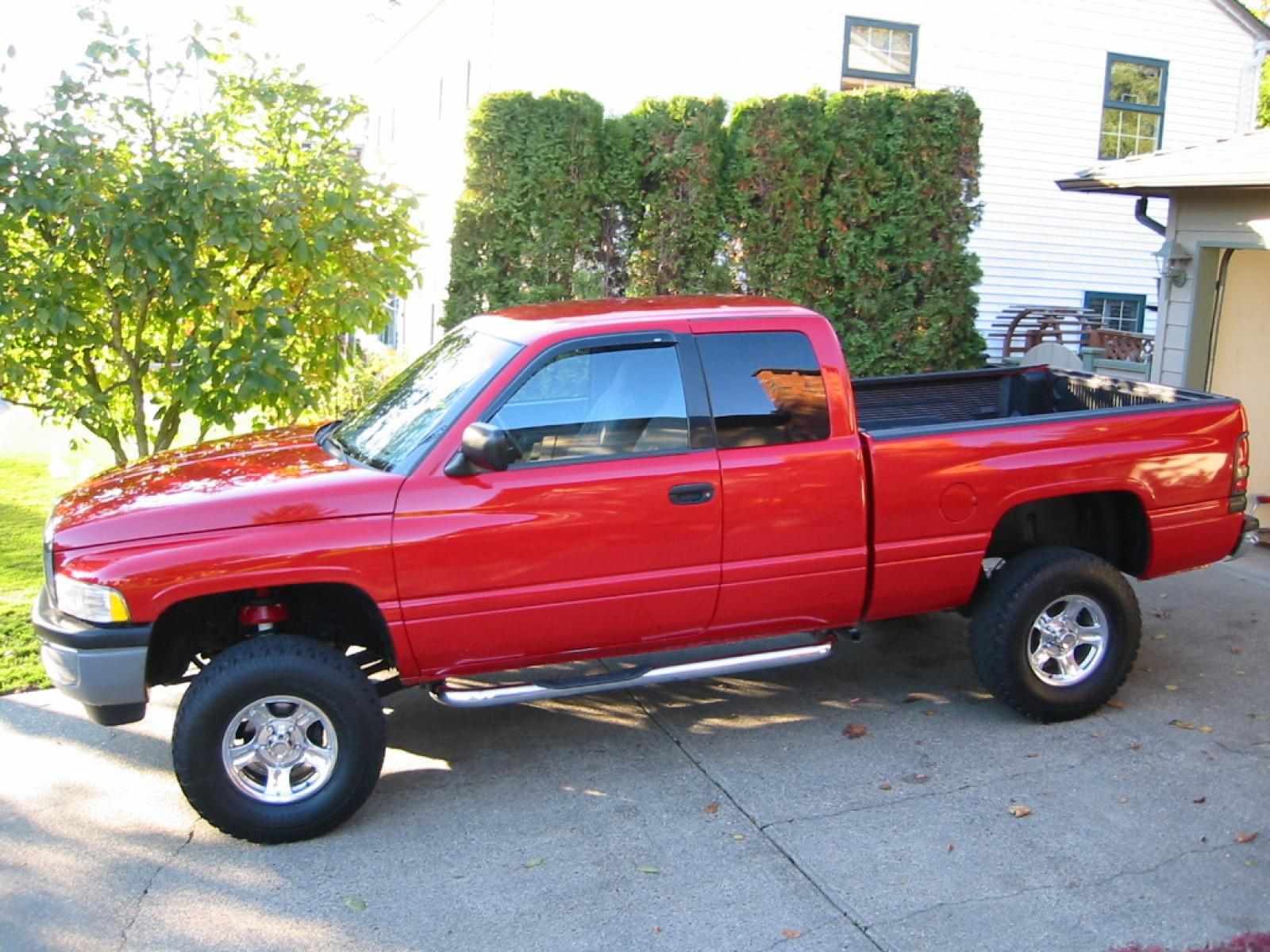 1997 dodge ram pickup 1500 information and photos. Black Bedroom Furniture Sets. Home Design Ideas