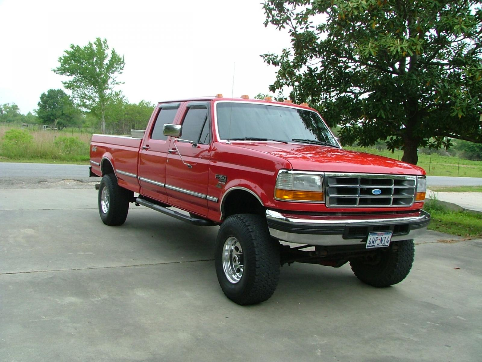 1997 Ford F-350 - Information and photos - Zomb Drive