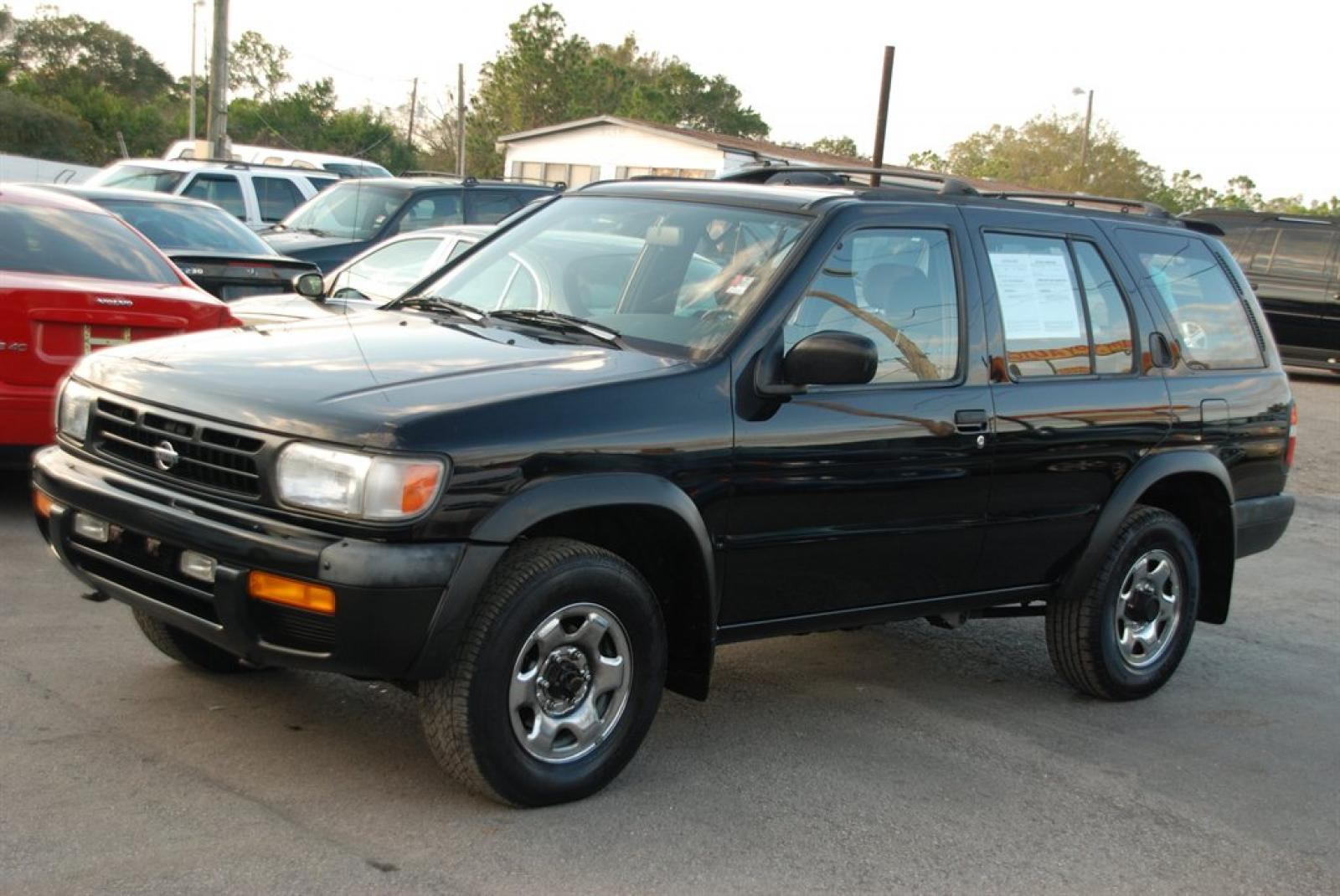 1997 Nissan Pathfinder Information And Photos Zombiedrive