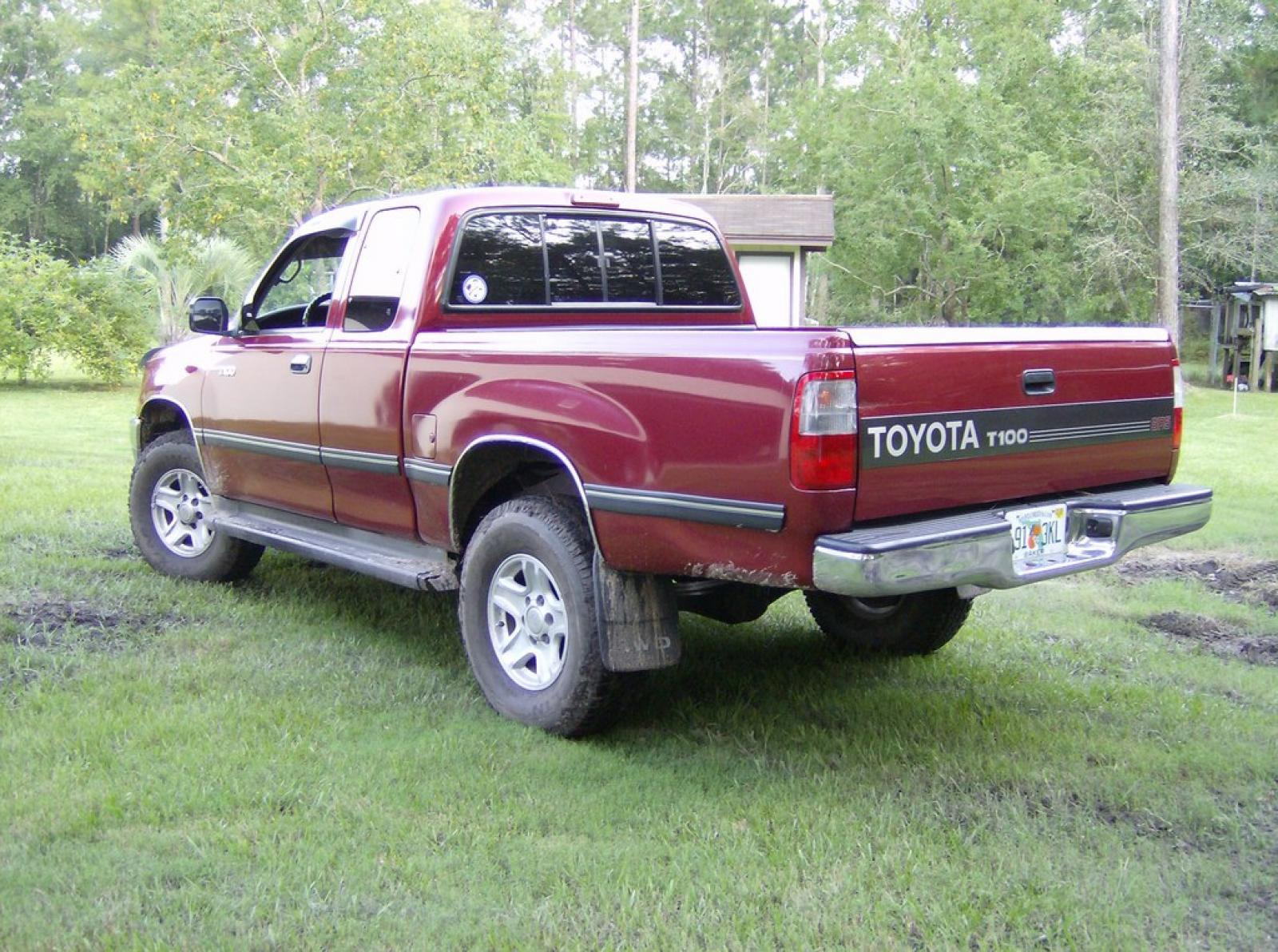 1997 toyota t100 information and photos zombiedrive. Black Bedroom Furniture Sets. Home Design Ideas