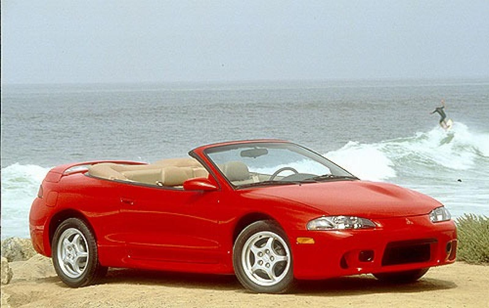 1997 mitsubishi eclipse spyder information and photos zombiedrive. Black Bedroom Furniture Sets. Home Design Ideas