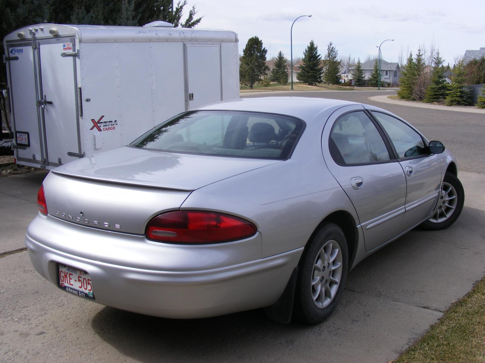 1998 chrysler concorde information and photos zombiedrive. Cars Review. Best American Auto & Cars Review