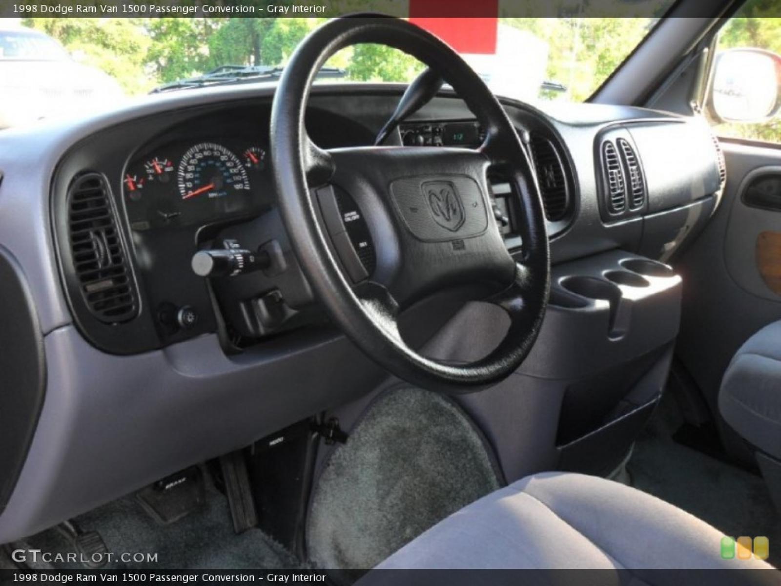 1998 Dodge Ram Van  Information and photos  ZombieDrive