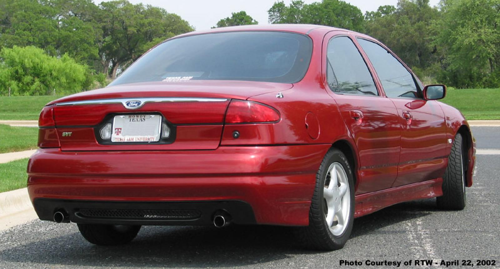 1998 ford contour svt information and photos zombiedrive. Black Bedroom Furniture Sets. Home Design Ideas