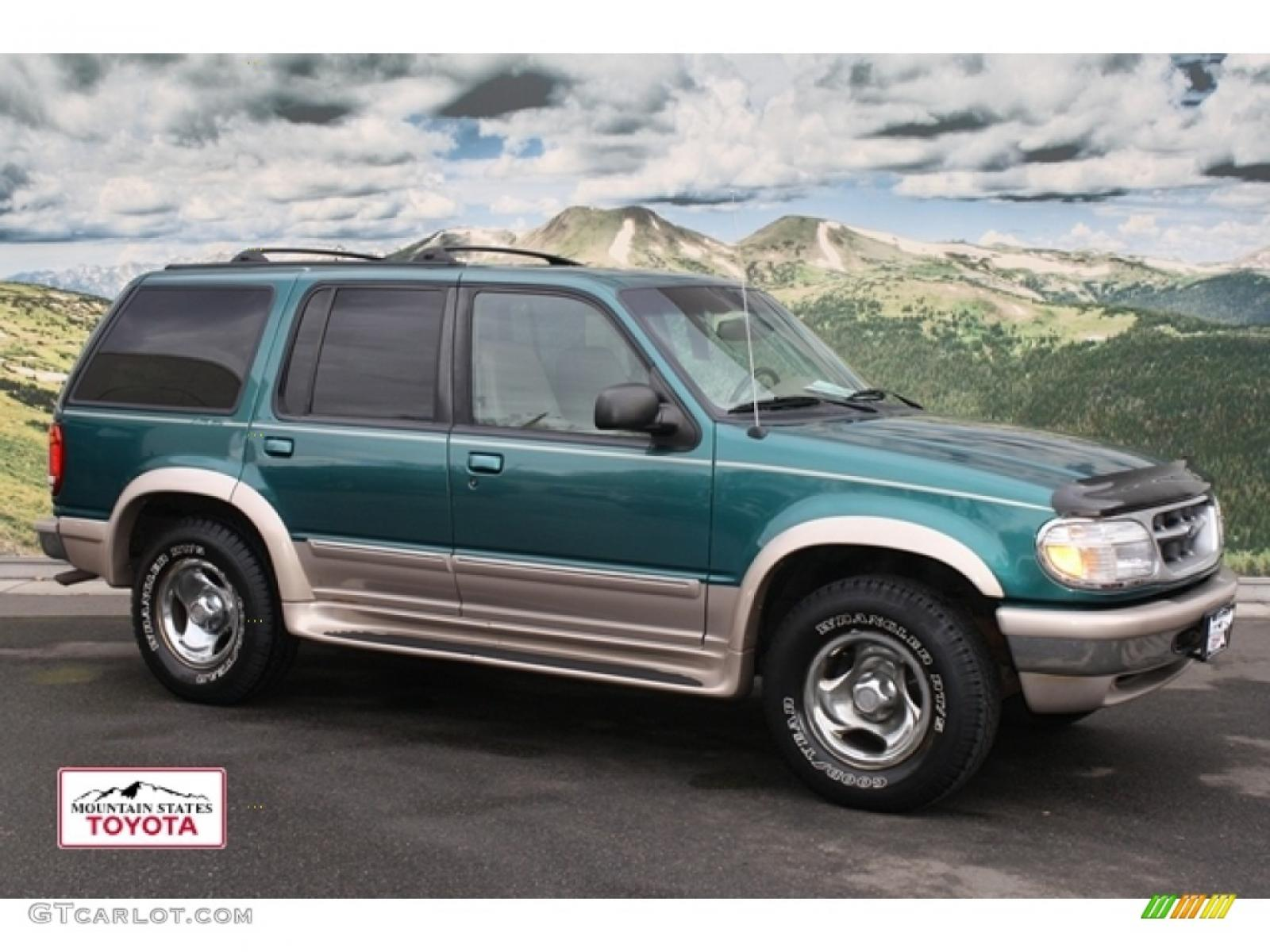 1998 ford explorer limited edition