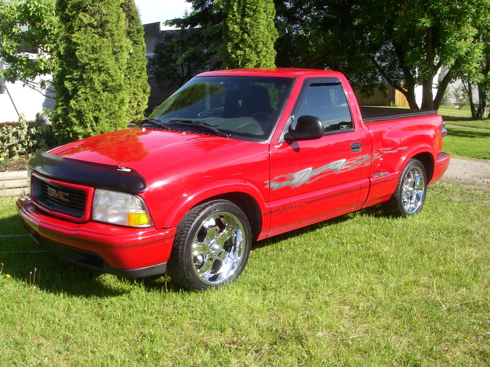 1998 gmc sonoma information and photos zombiedrive. Black Bedroom Furniture Sets. Home Design Ideas