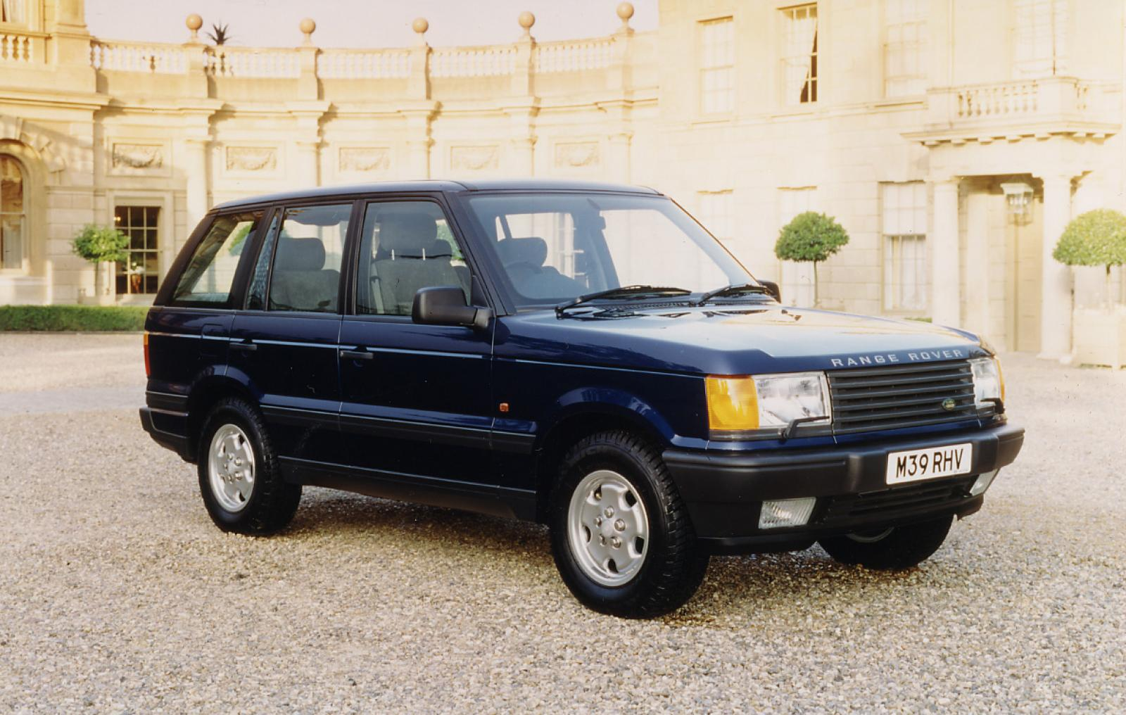 1998 land rover range rover information and photos zombiedrive. Black Bedroom Furniture Sets. Home Design Ideas