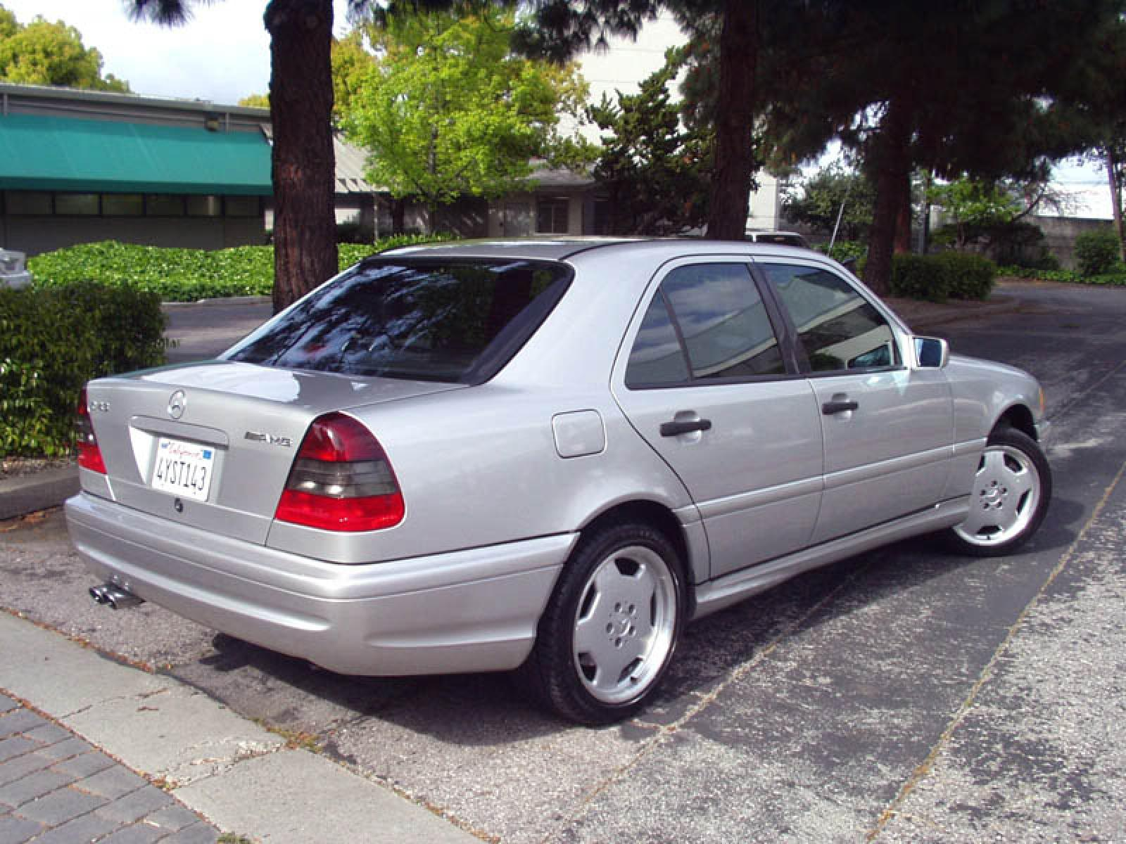 1998 mercedes benz c43 amg information and photos for Mercedes benz 1998