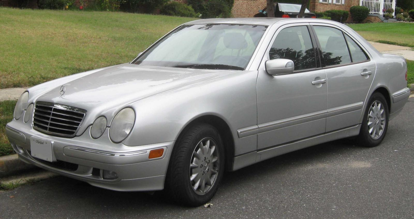 1998 mercedes benz e class information and photos for Mercedes benz class e