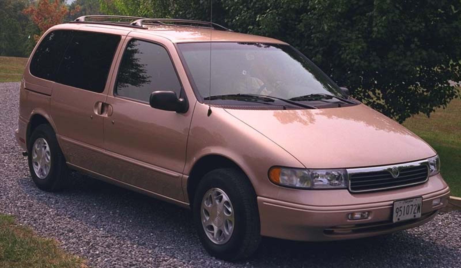 minivan mercury villager 1998