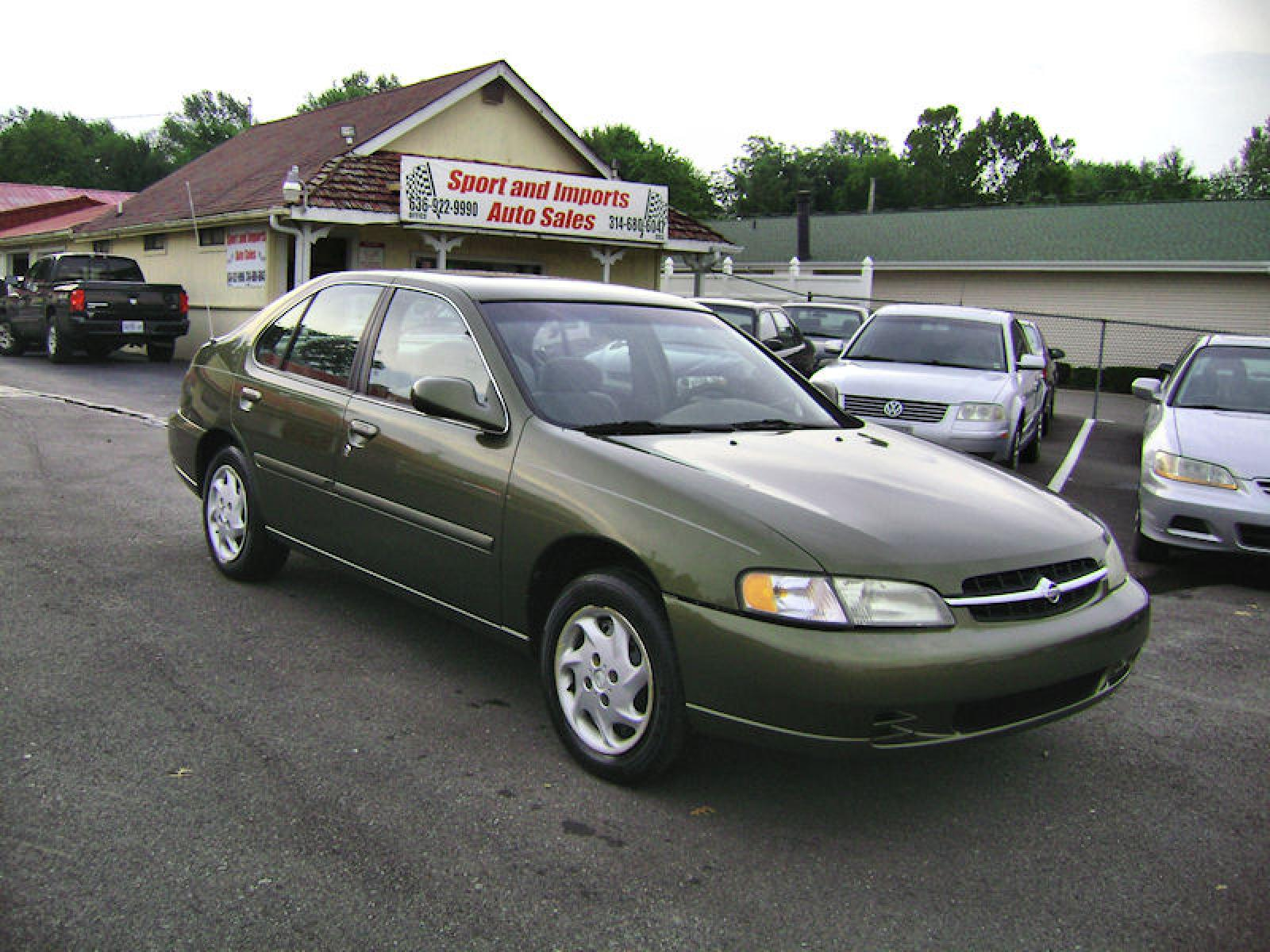 1998 Nissan Altima Green Gxe Information And Photos Zombiedrive 1600x1200