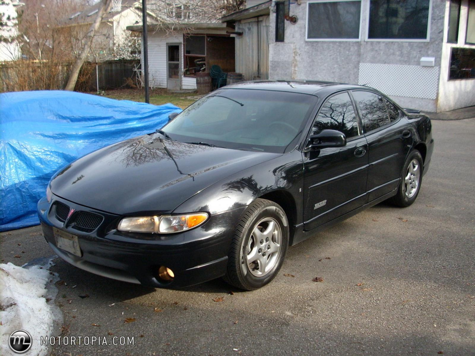 1998 pontiac grand prix information and photos zombiedrive. Black Bedroom Furniture Sets. Home Design Ideas