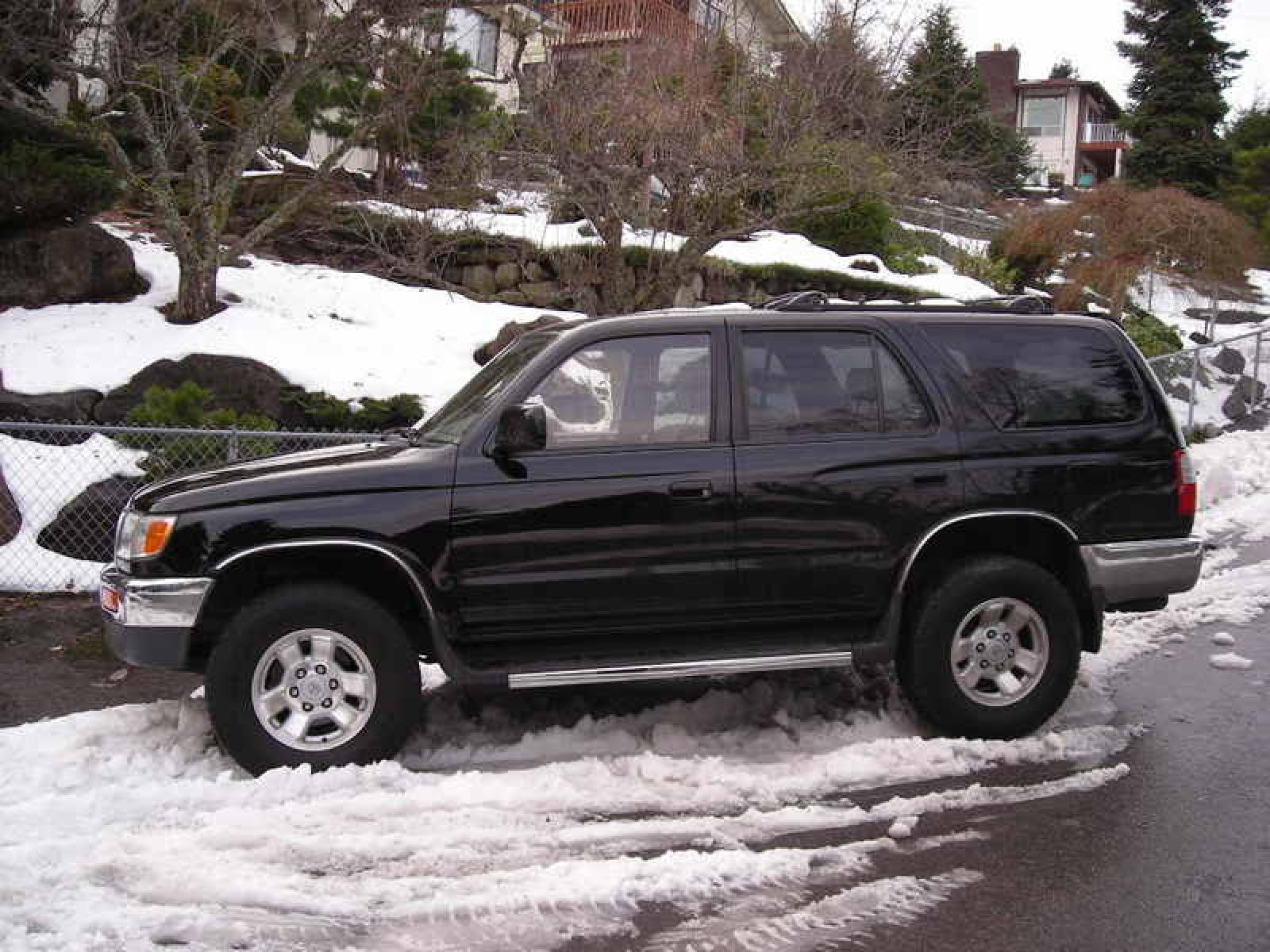 1998 Toyota 4Runner Information and photos ZombieDrive