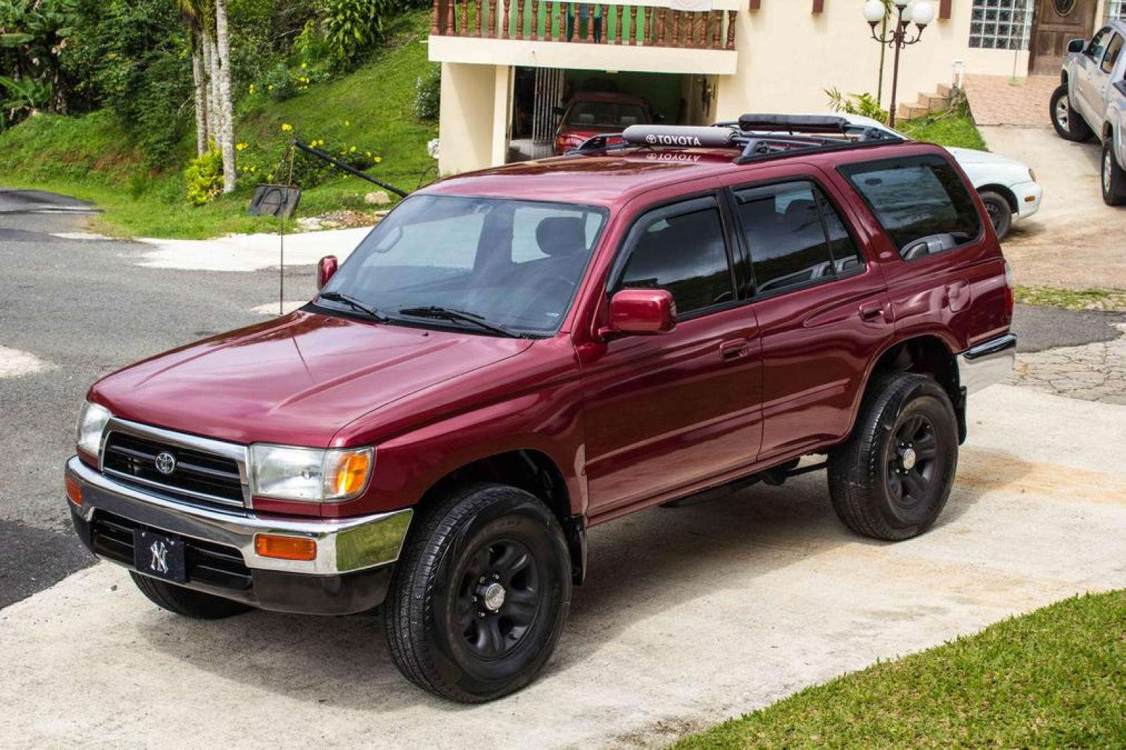 1998 toyota 4runner information and photos zombiedrive. Black Bedroom Furniture Sets. Home Design Ideas