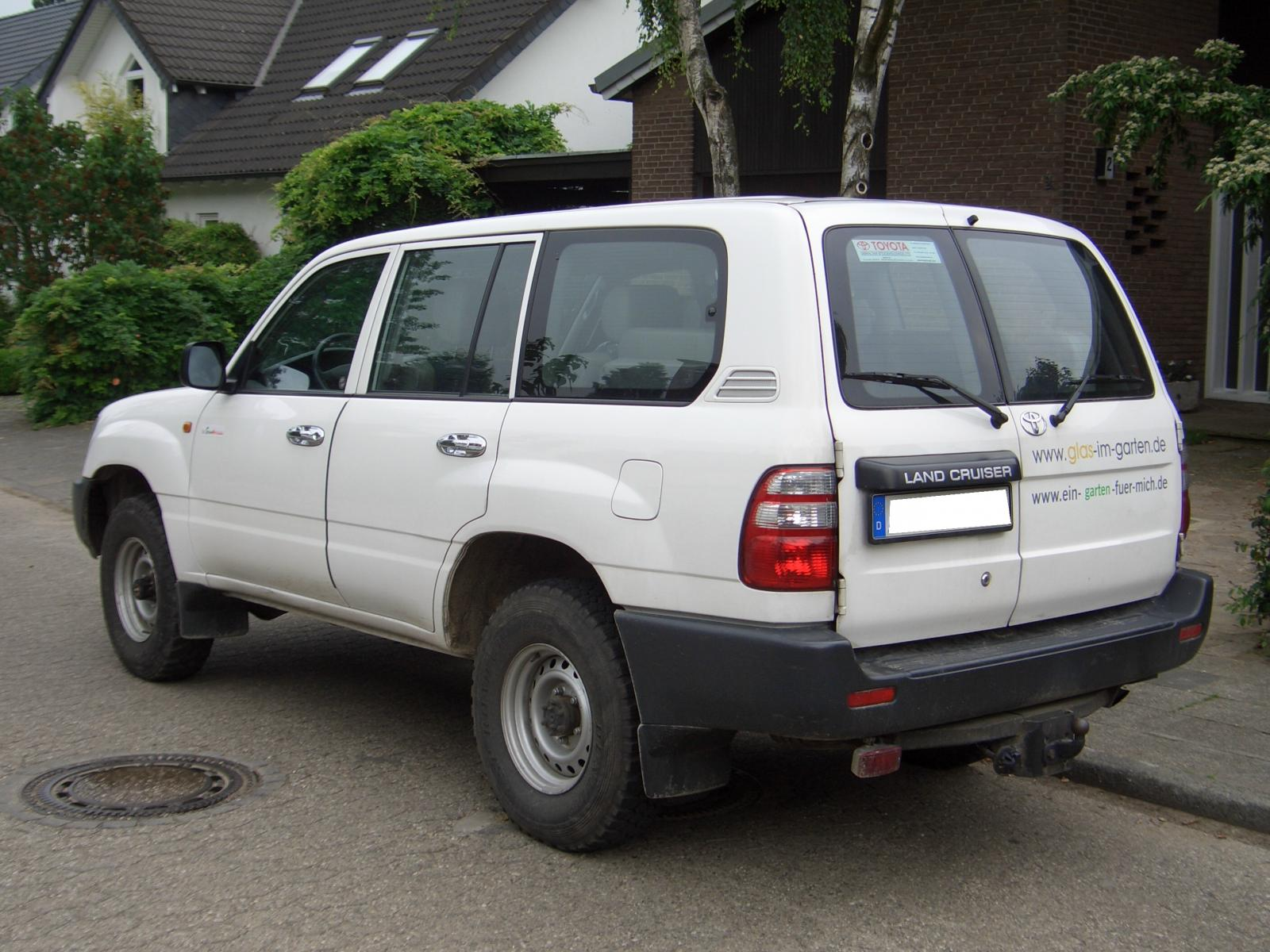 1998 Toyota Land Cruiser Information And Photos