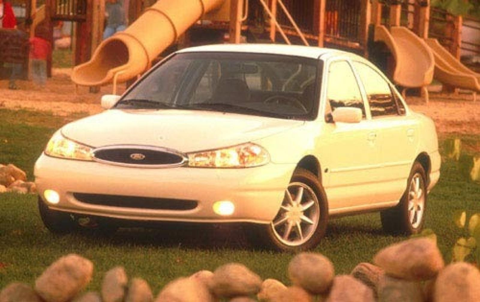 1999 ford contour information and photos zombiedrive. Black Bedroom Furniture Sets. Home Design Ideas