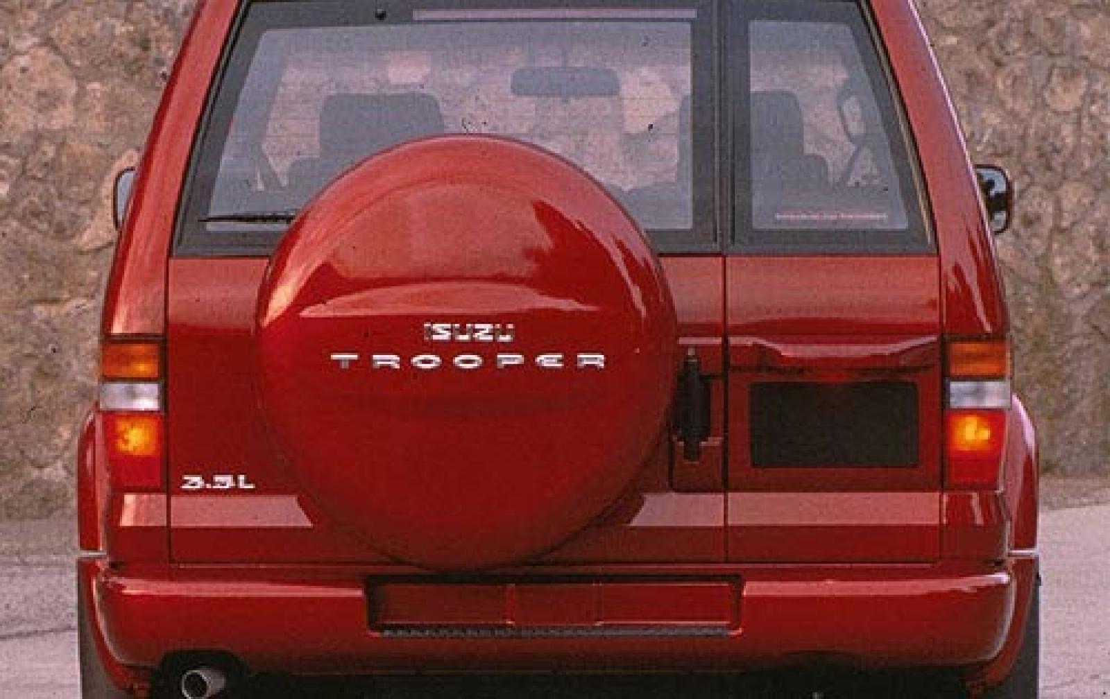 1999 isuzu trooper - 1600px image #6