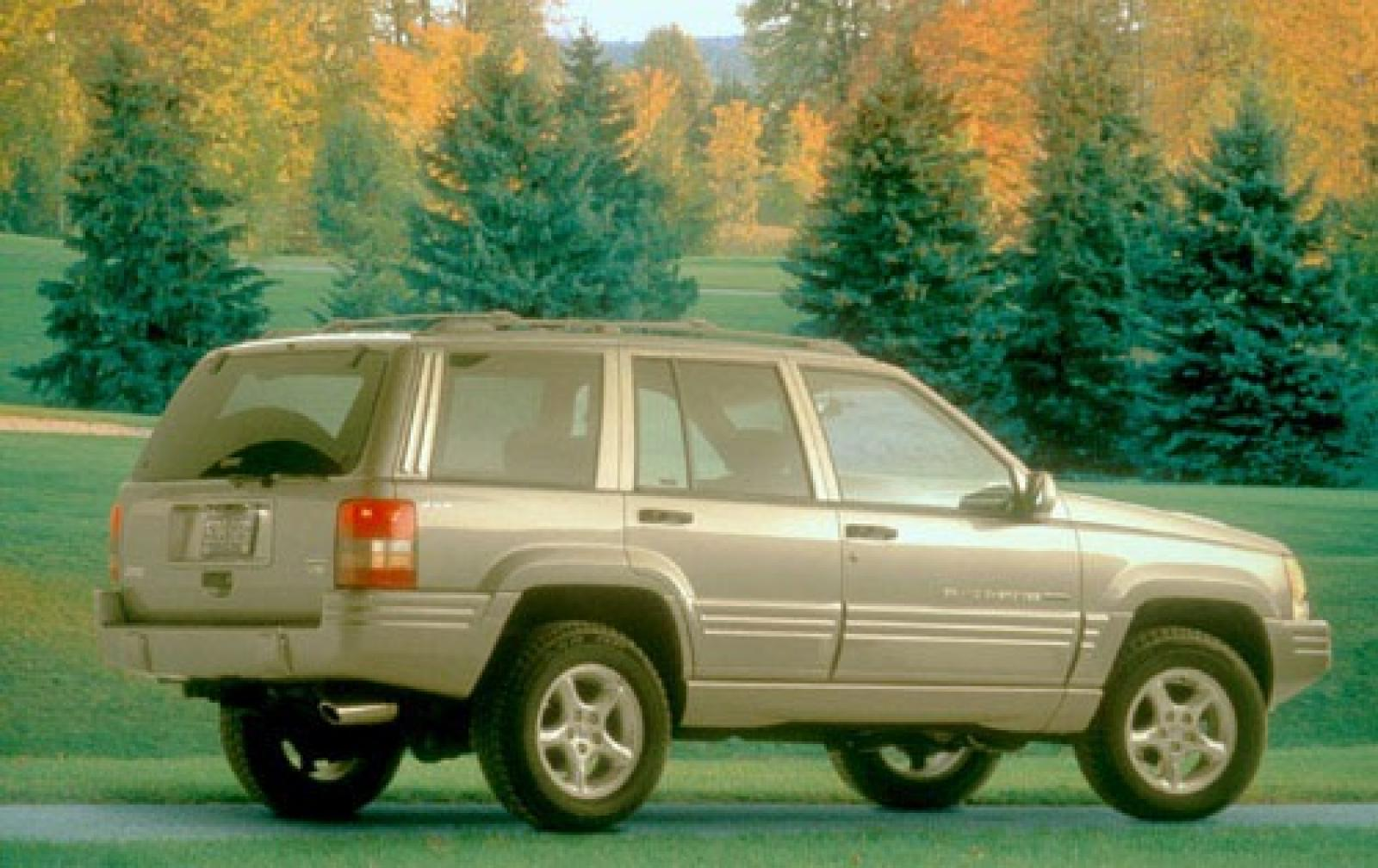1998 jeep grand cherokee information and photos zombiedrive. Black Bedroom Furniture Sets. Home Design Ideas