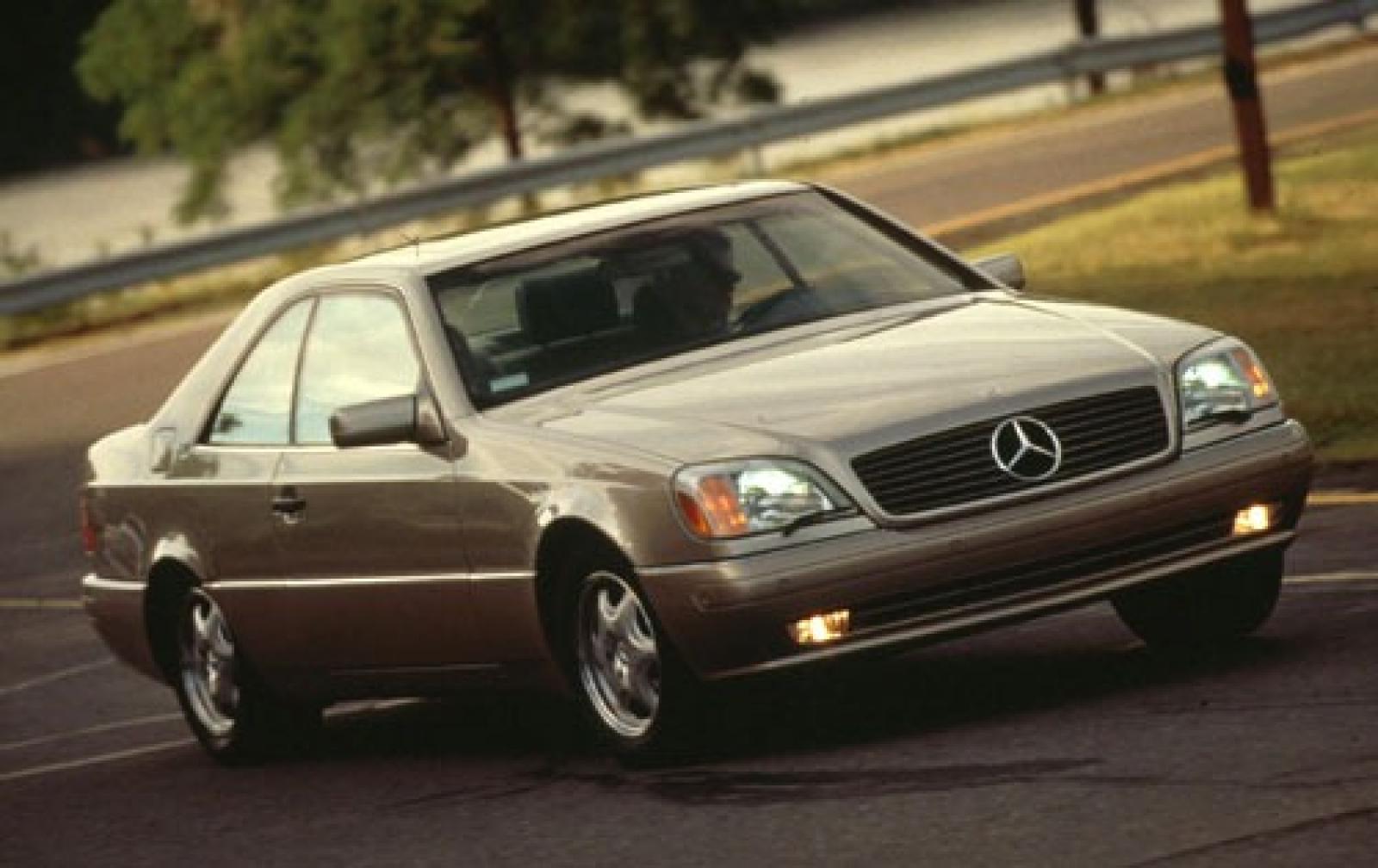 1998 mercedes benz cl class information and photos for Mercedes benz 1998