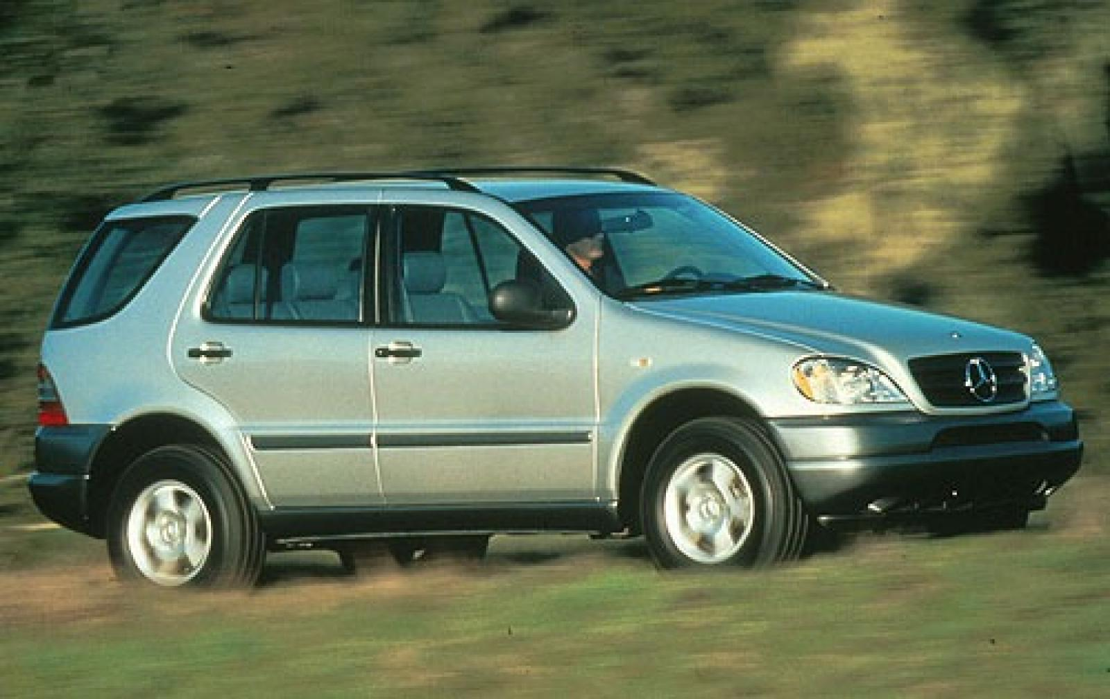 1998 mercedes benz m class information and photos for Mercedes benz ml320 suv