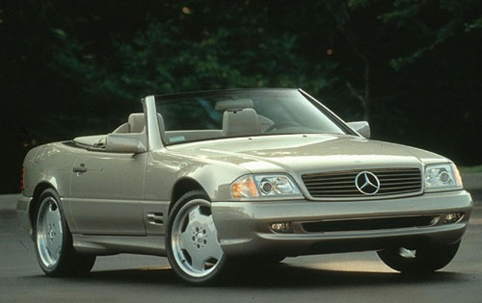 1998 mercedes benz sl class information and photos for 1998 mercedes benz sl500