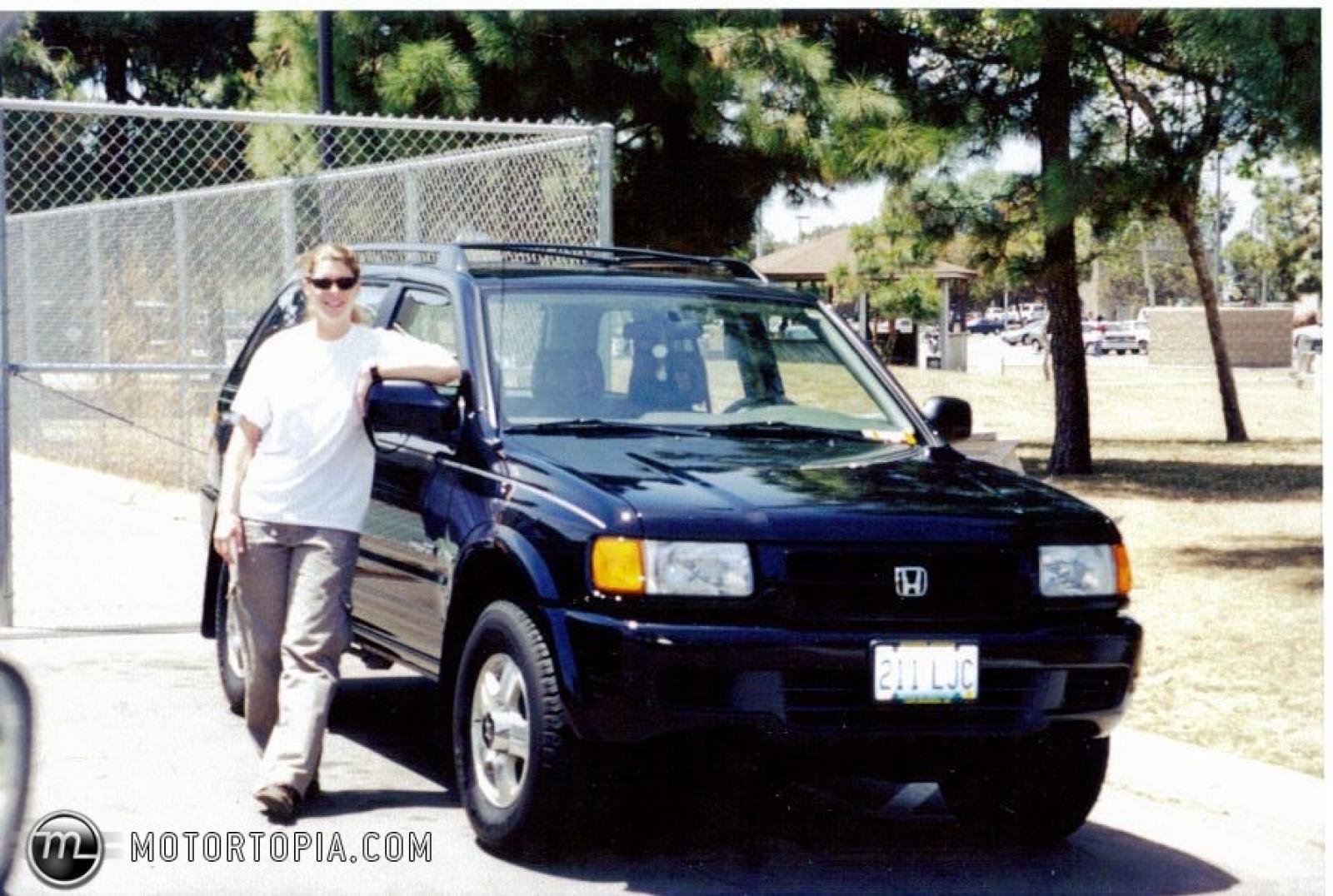 1999 honda passport information and photos zombiedrive