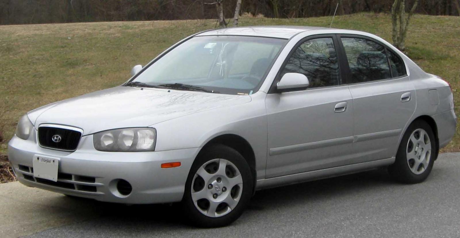 Hyundai Elantra on 1998 Hyundai Sonata