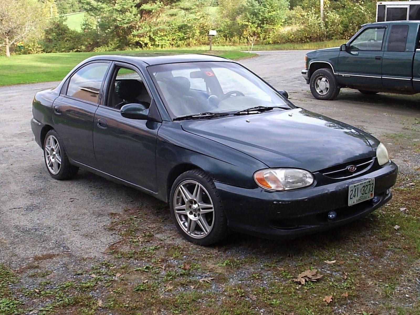 800 1024 1280 1600 origin 1999 Kia Sephia ...