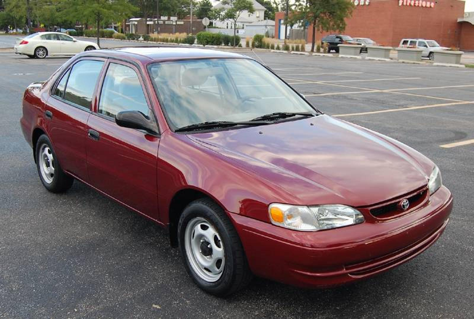 1999 toyota corolla information and photos zombiedrive. Black Bedroom Furniture Sets. Home Design Ideas