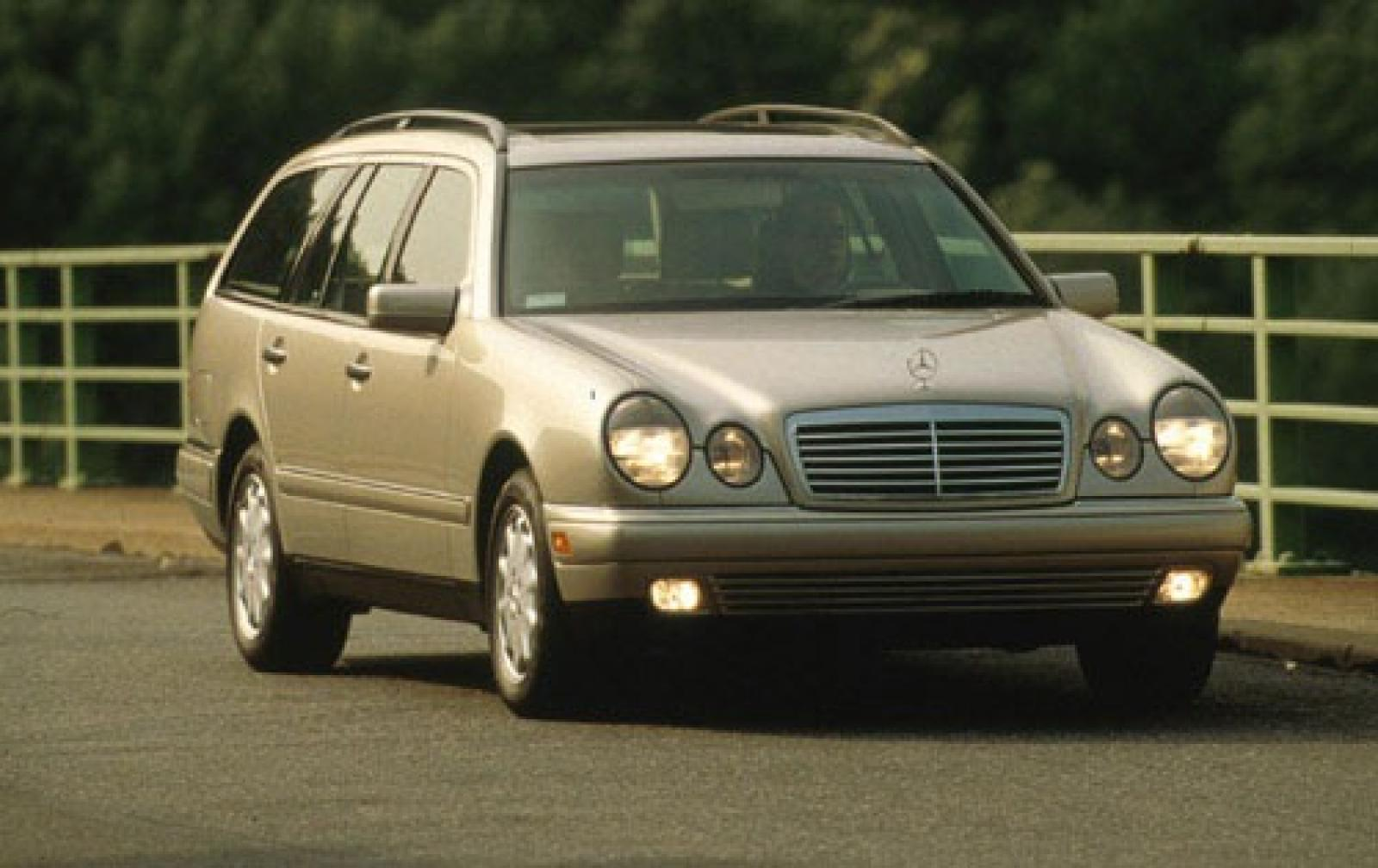 1999 mercedes benz e class information and photos for Mercedes benz e320 wagon