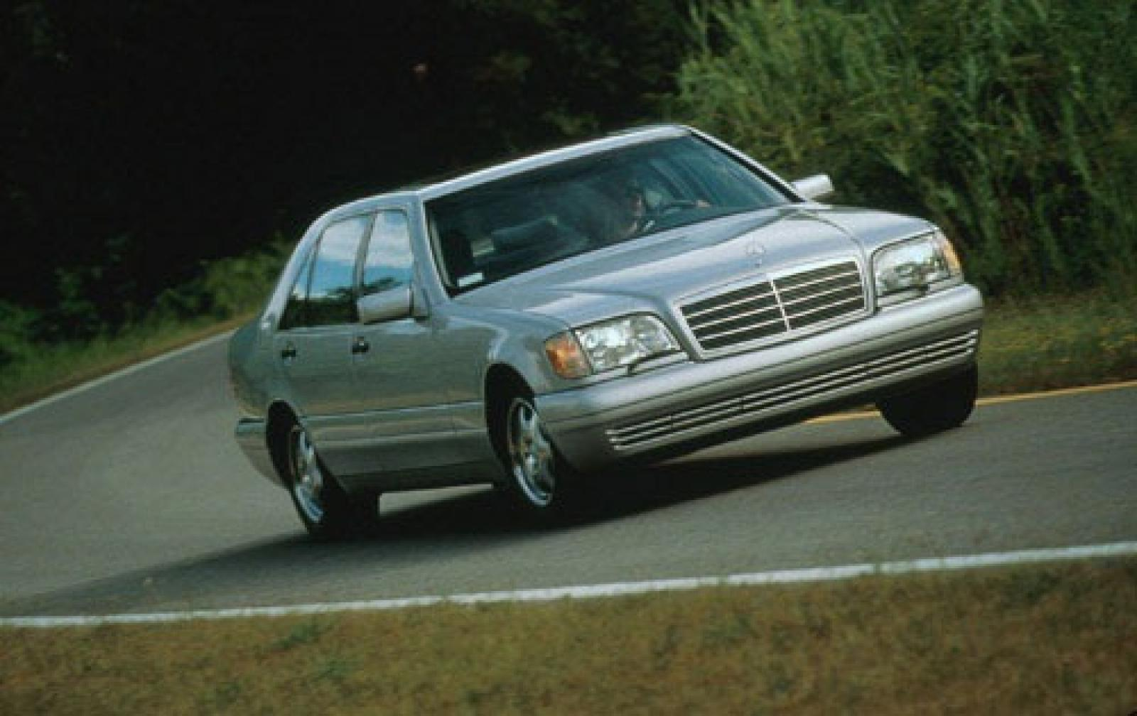 1999 mercedes benz s class information and photos for Mercedes benz s 420
