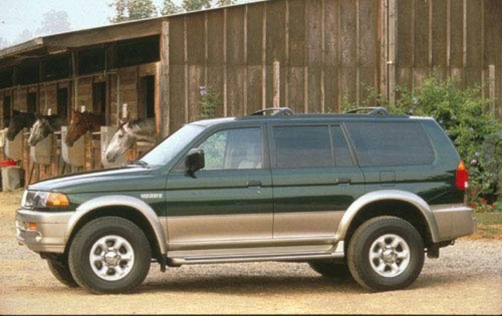 1999 Mitsubishi Montero Sport #2 1999 Mitsubishi Montero S Exterior #2 800  1024 1280 1600 Origin ...