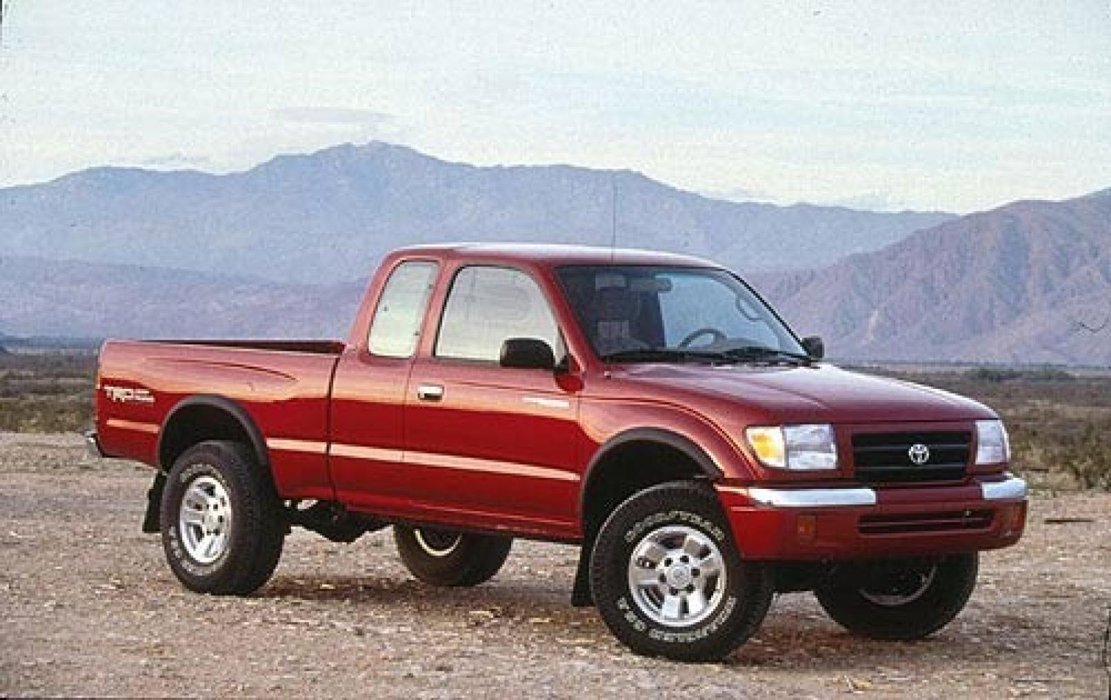1999 Toyota Tacoma Information And Photos Zombiedrive