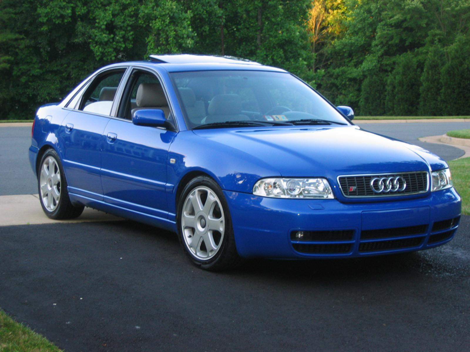 2000 Audi S4 Information And Photos Zombiedrive