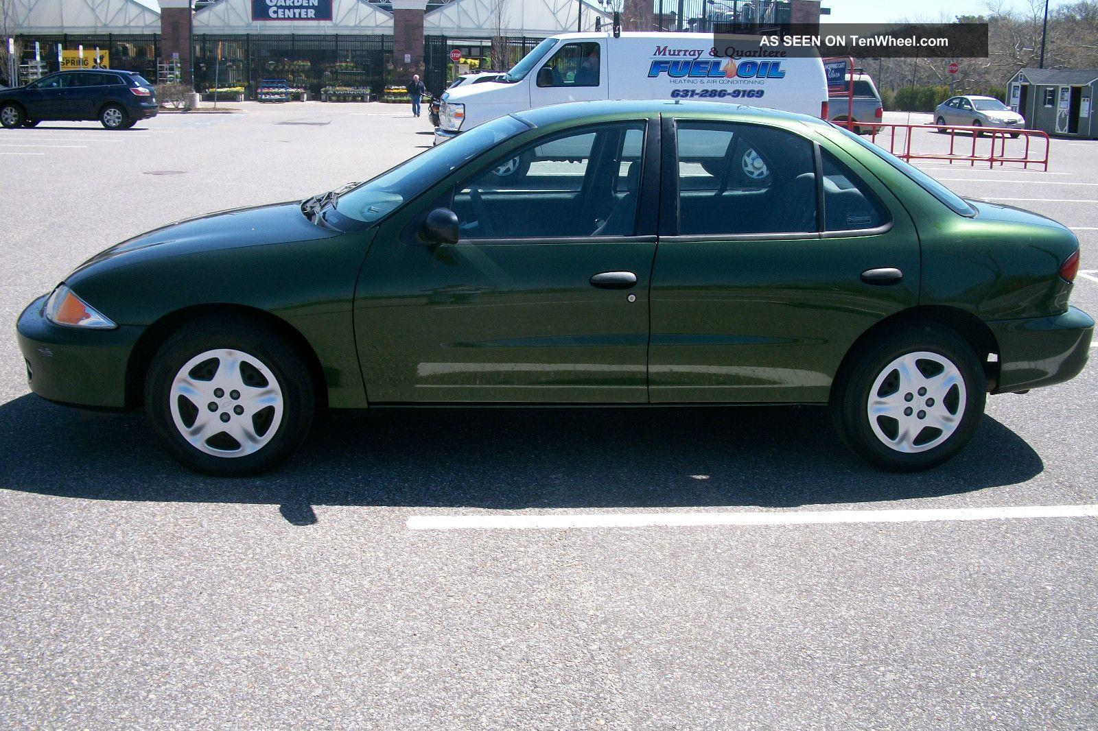 Chevy Colorado Green >> 2000 Chevrolet Cavalier - Information and photos - ZombieDrive