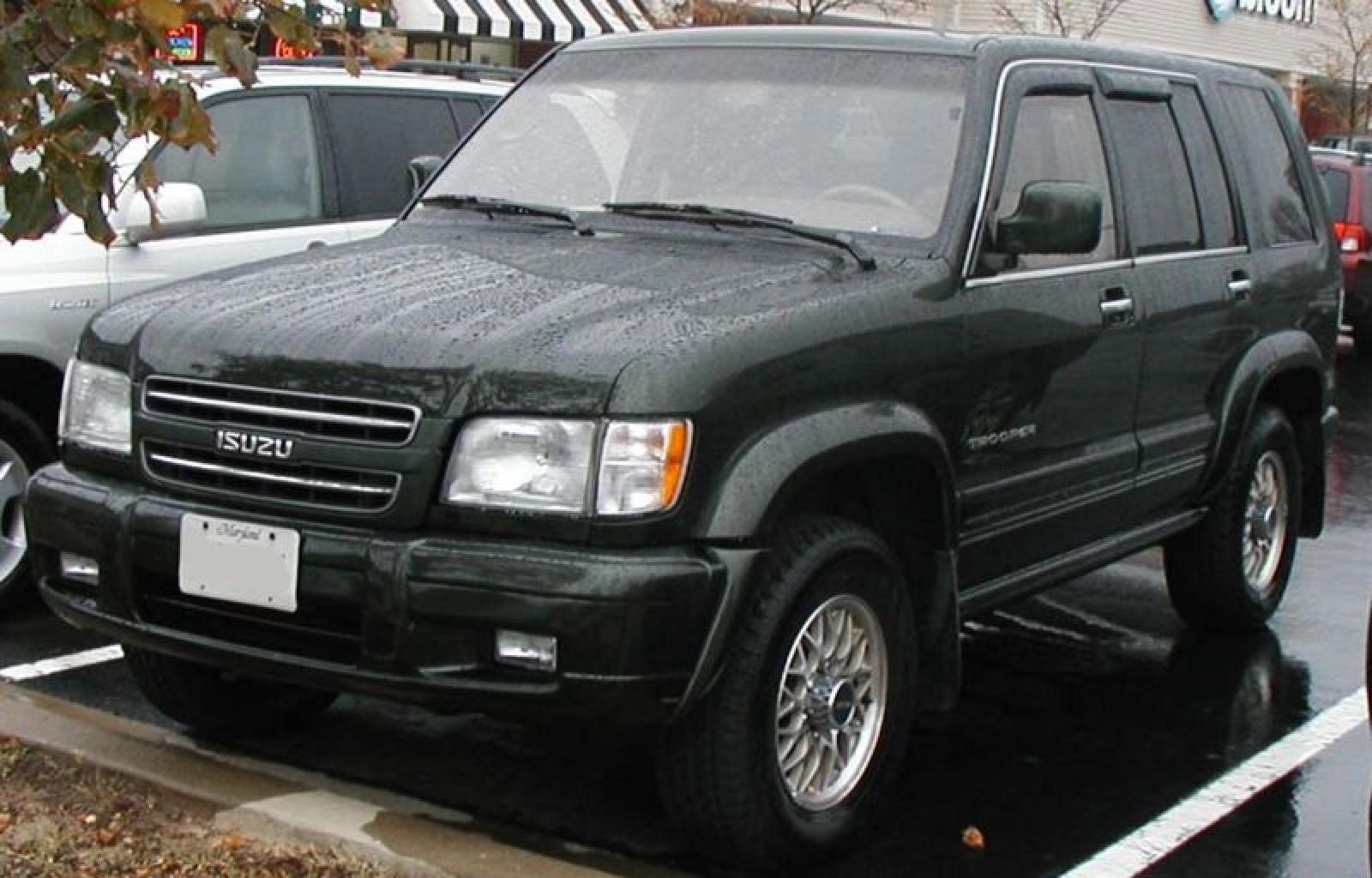 2000 isuzu trooper information and photos zombiedrive. Black Bedroom Furniture Sets. Home Design Ideas