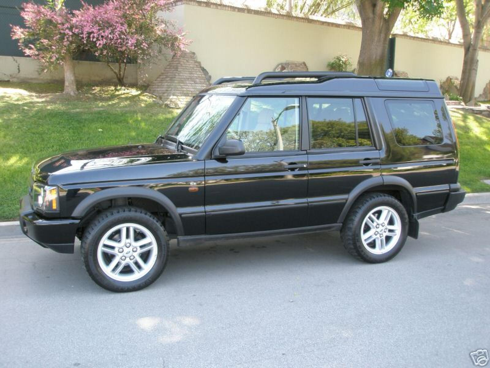 2000 land rover discovery series ii - information and photos