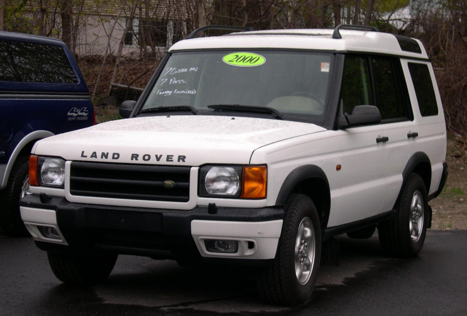 2000 land rover discovery series ii information and photos zombiedrive. Black Bedroom Furniture Sets. Home Design Ideas