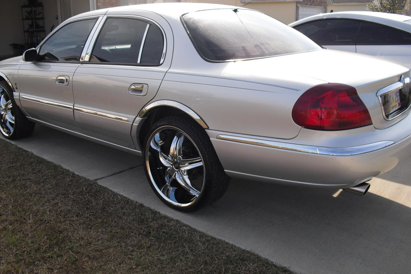 2000 Lincoln Continental Information And Photos Zombiedrive