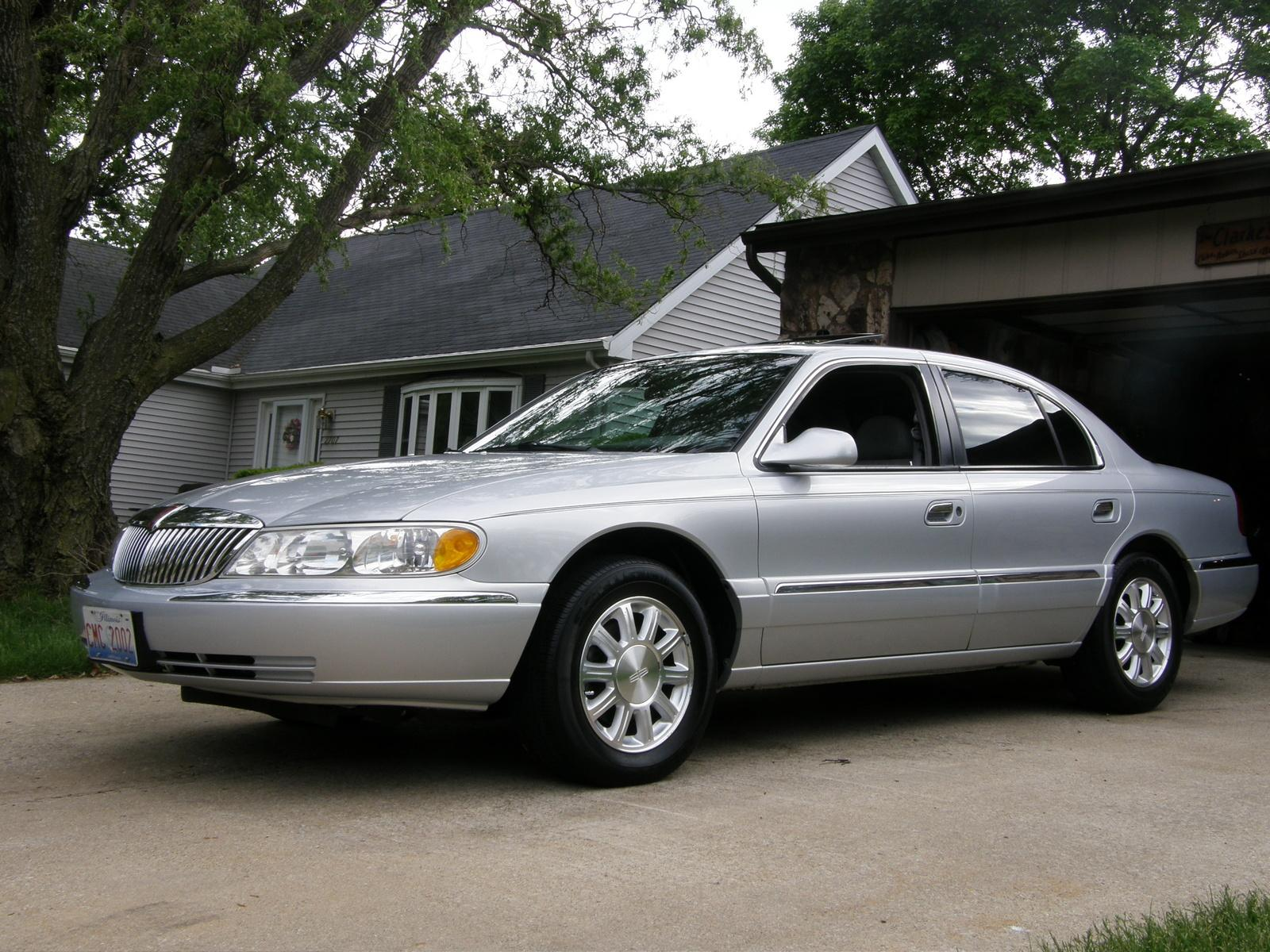 2000 lincoln continental information and photos zombiedrive. Black Bedroom Furniture Sets. Home Design Ideas