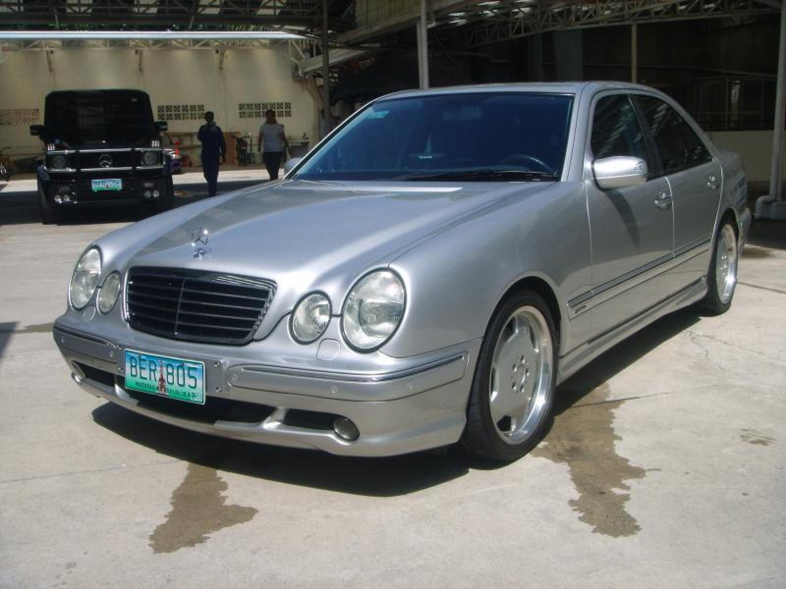 2000 mercedes benz e55 amg information and photos for Facts about mercedes benz