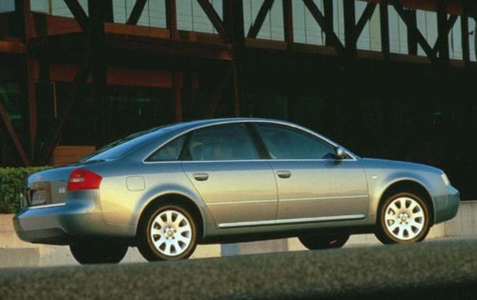 2001 audi a6 information and photos zombiedrive. Black Bedroom Furniture Sets. Home Design Ideas