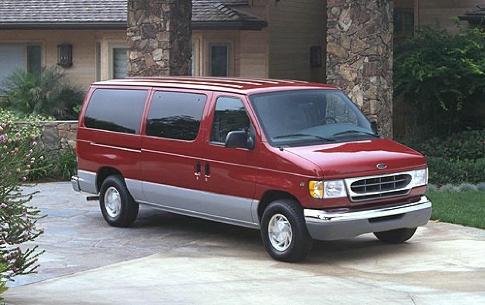 2000 ford econoline wagon information and photos. Black Bedroom Furniture Sets. Home Design Ideas