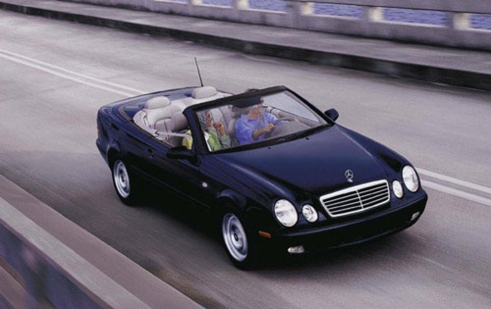 2001 mercedes benz clk class information and photos