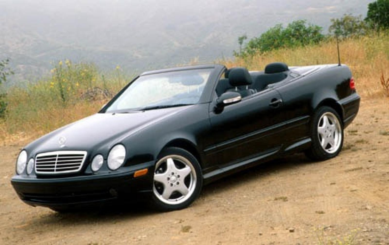 2001 mercedes benz clk class information and photos. Black Bedroom Furniture Sets. Home Design Ideas